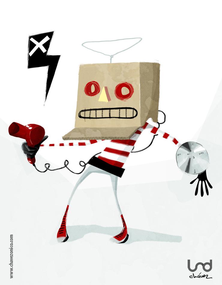 Robot por Chavezonico