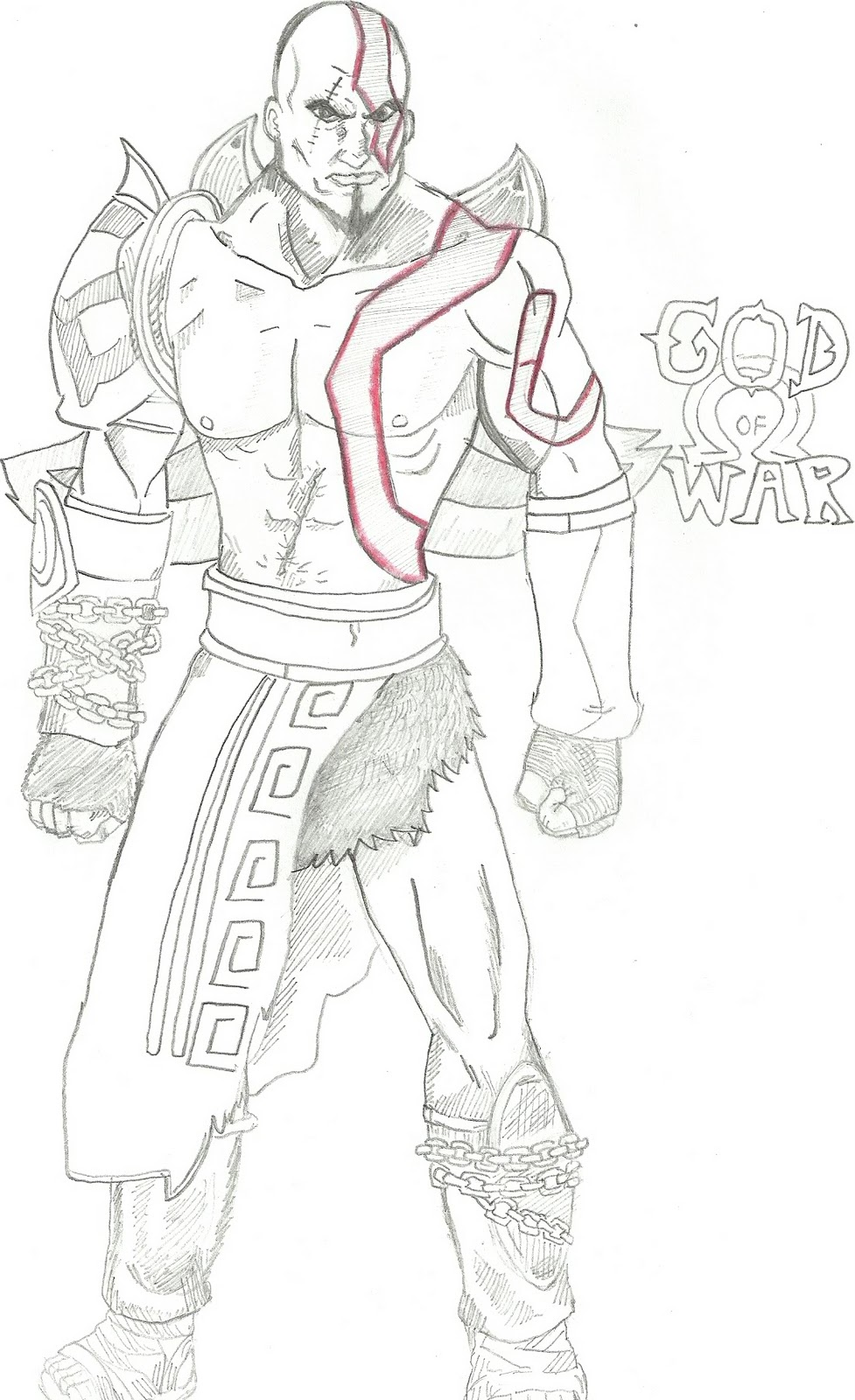 god of war coloring pages - photo#15