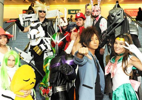 Kamen Rider Eternal on Anime Expo 2010