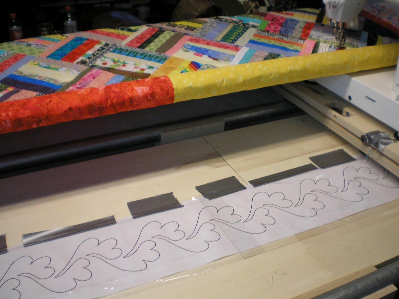Wilma's World: Quilting the Basket Weave Quilt : proflex quilting frame - Adamdwight.com