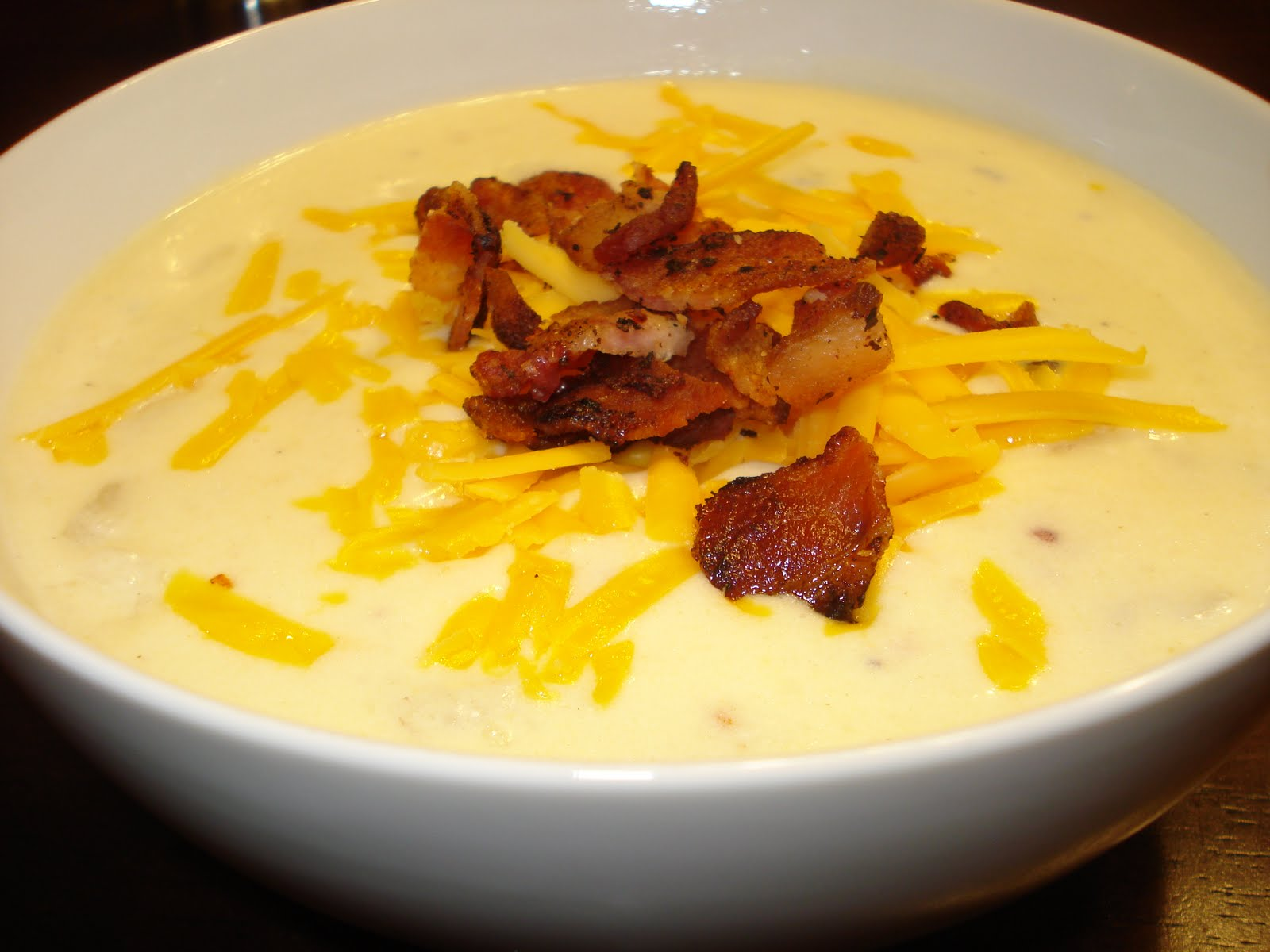 Great Blog Food, Made BETTER: Loaded Baked Potato Soup