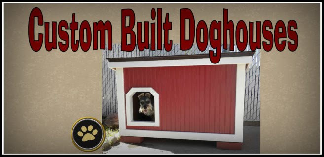 Custom-Built Doghouses