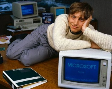 Bill Gates funds white cloud