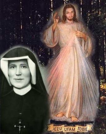 JESUS AND FAUSTINA KOWALSKA