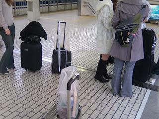 京都駅集合