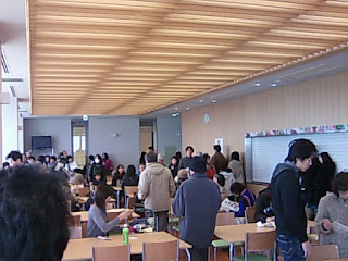 滋賀県警本部10F食堂