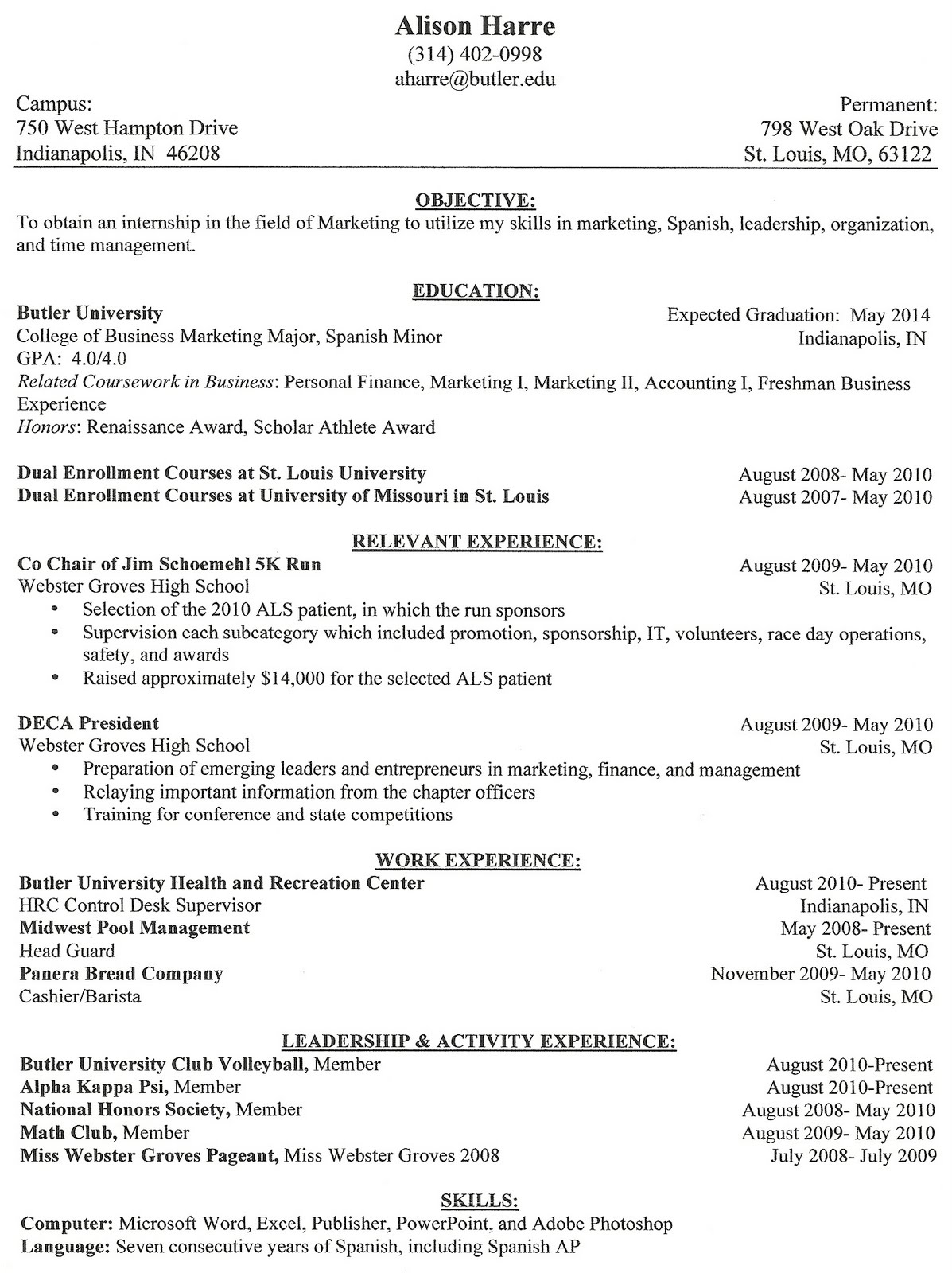 what - Different Types Of Resume Formats