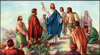 Jesus Christ and His Disciples Sermon on Mount Wallpaper Free Jesus Christ Sermon on Mount Wallpapers,paintings and arts