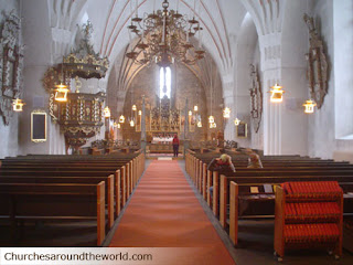 Nederluda Church in Sweden Wallpaper Free download Jesus Christ Christian Churches Photos and Pictures