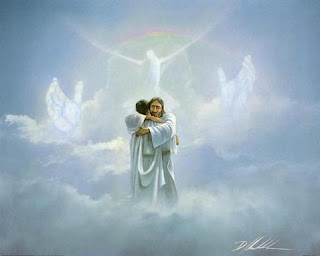 Jesus Christ-Dove and Praying hands in heaven Picture Free Download Jesus Christ-Praise and Worship Wallpapers and Clip art images