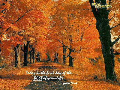 Motivational Wallpaper on life : Today is the first day