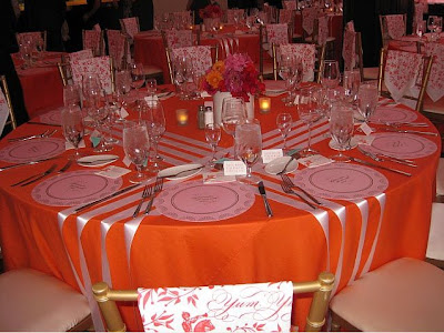 Wedding table design How