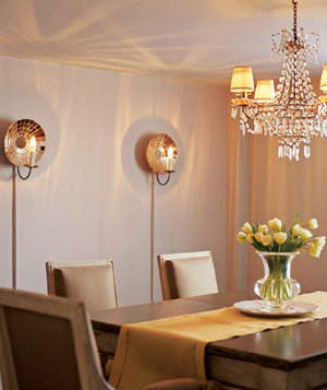 Wall Lights In Dining Room : Dining Room Ideas: Dining Room Lighting