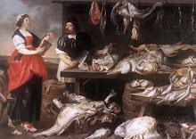 """Adriaen van Utrecht """"Fishmonger's Stall"""""""