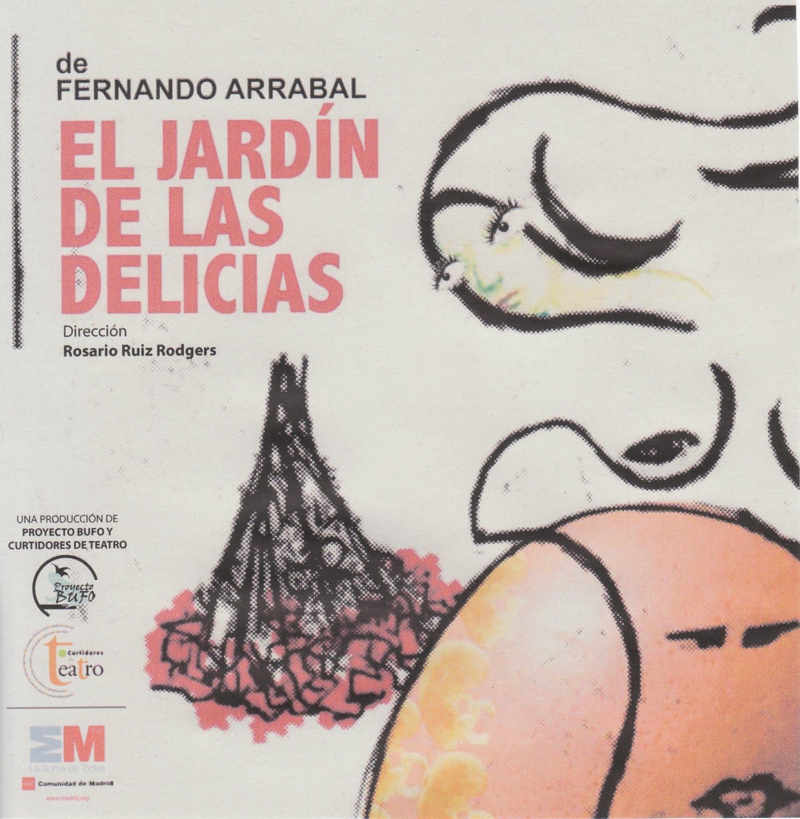 Merc rovira el jard n de las delicias for El jardin de las delicias significado