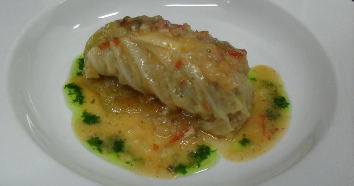 La cocina de jorge cano golubtsi de coles relleno con - Salsa para bogavante cocido ...