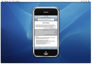 iPhoney : an iPhone web simulator
