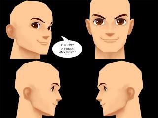 Not Freaky 3D Head