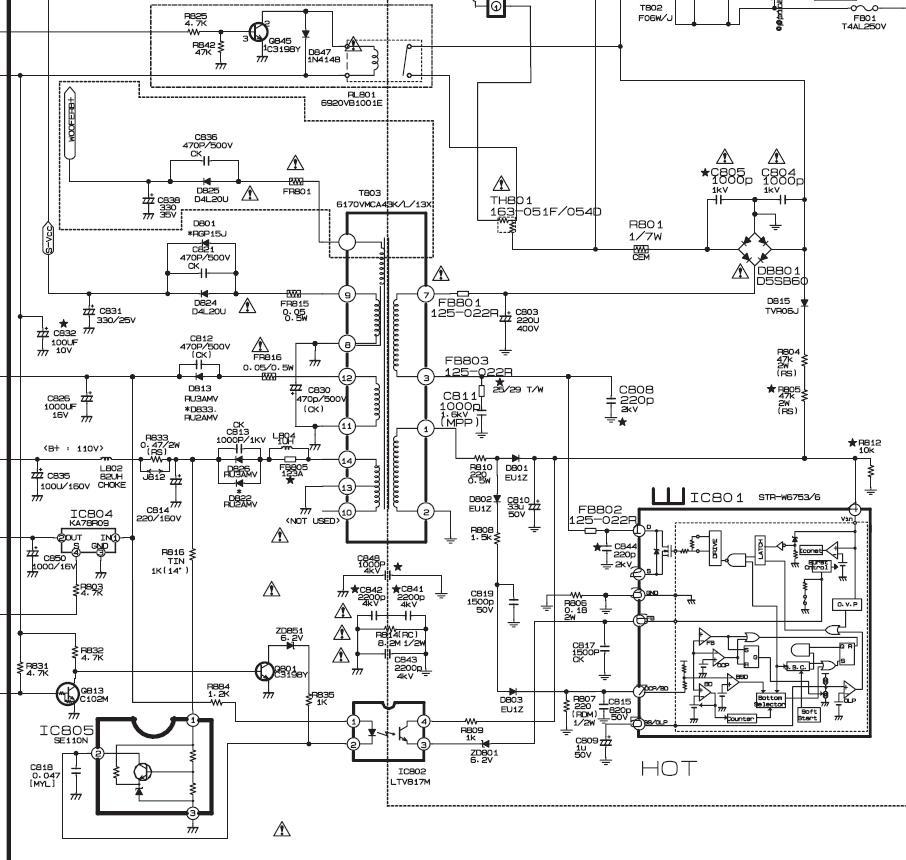 service manual electronics  21fa3rl mc