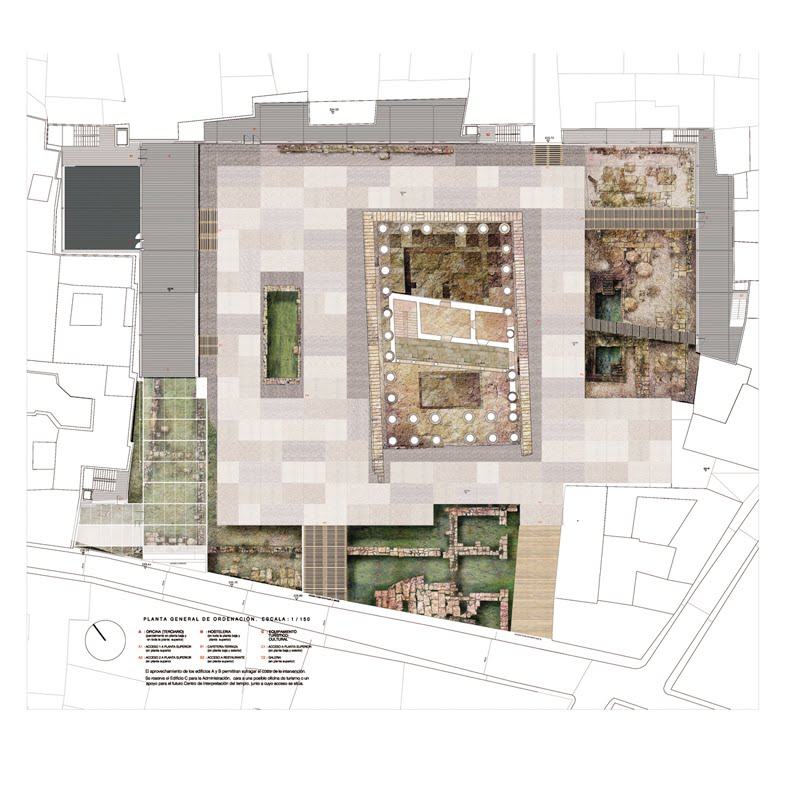 Guriditart s arquitectos templo de diana en m rida - Arquitectos en merida ...