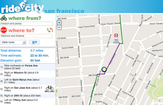 Ride the City Debuts New San Francisco Bike Route Map