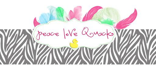 Peace, Love, Quack