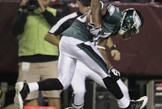 Eagles get a Important Victory in Washington