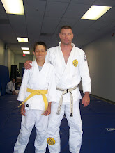 Chirstian gets his yellow belt!
