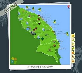 Peta Pelancongan Interaktif