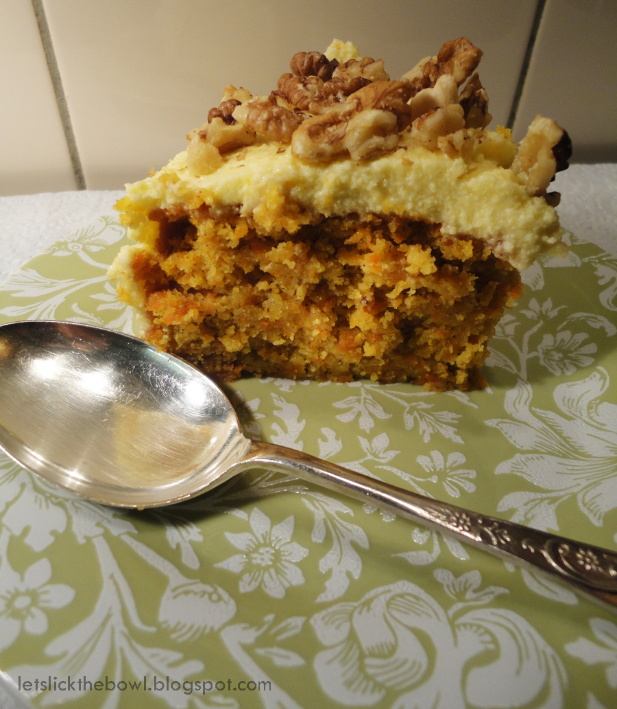 ... Lick The Bowl: Gluten-free Carrot Cake with Lime Mascarpone Frosting