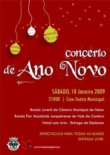 Concerto de Ano Novo em Nelas
