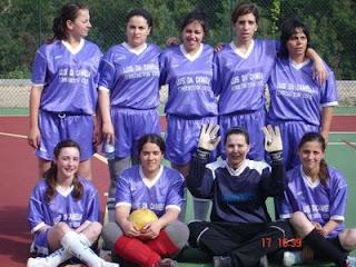 1º teste da equipa feminina de Pardieiros