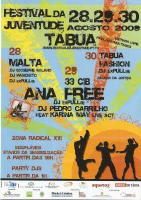 Festival da Juventude 09 em Tábua