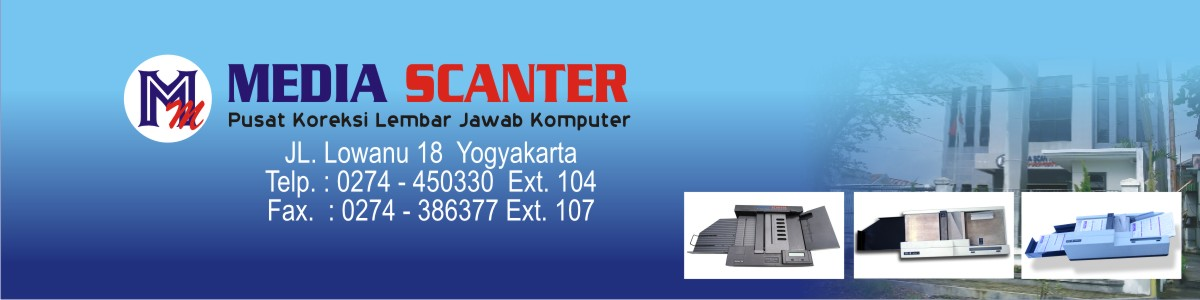 Media  Scanter - Pusat Koreksi LJK