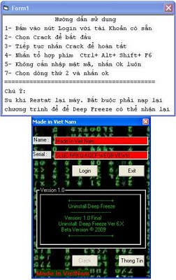hacking deepfreeze 2