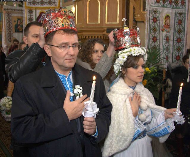 Traditional Ukrainian Wedding