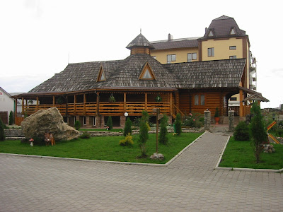 The Dykanka Restaurant in Ternopil city (West Ukraine)