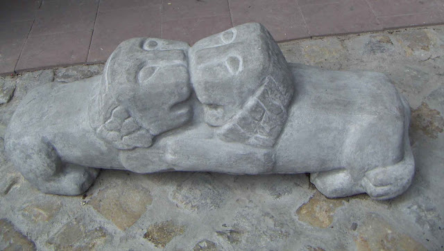 West Ukraine: The Lion is symbol of Lviv city