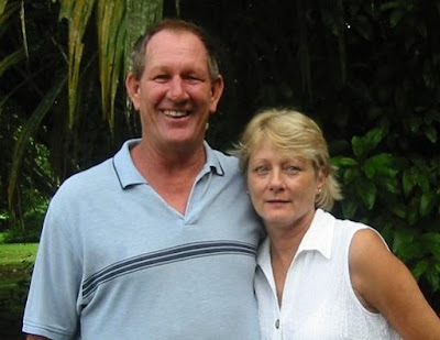 Paul And Jennie From The Roaring River Golf Course Belize