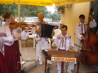 The Veseli Halychany Musicians (Western Ukraine)