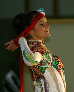 Ukrainian Rhythmic Gymnast Anna Bessonova