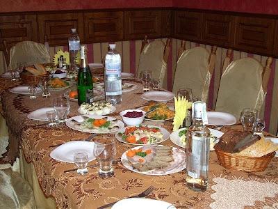 Volodar Restaurant Feast Ternopil City West Ukraine