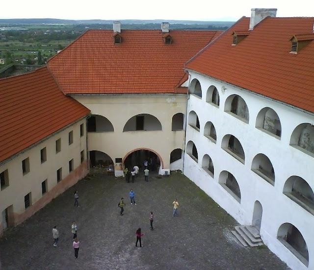 Palanok Castle Mukachevo City Western Ukraine