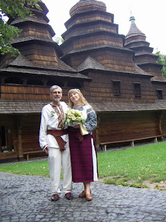 Ukrainian Canadian Bride and Groom