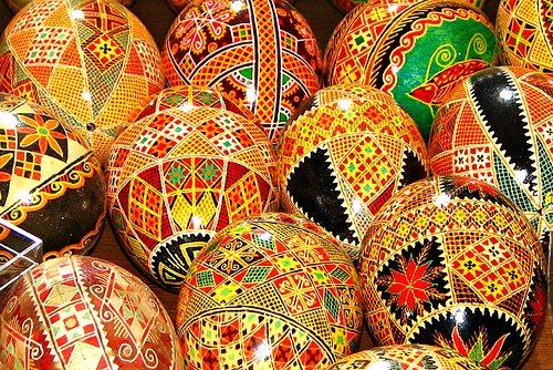 Ukrainian Easter Eggs Pysanky