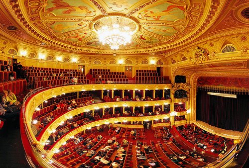 Lviv Opera And Ballet Theatre Western Ukraine