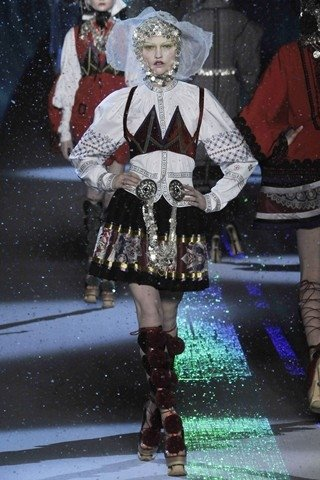 Galliano Slavic Collection Autumn Winter 2009 2010