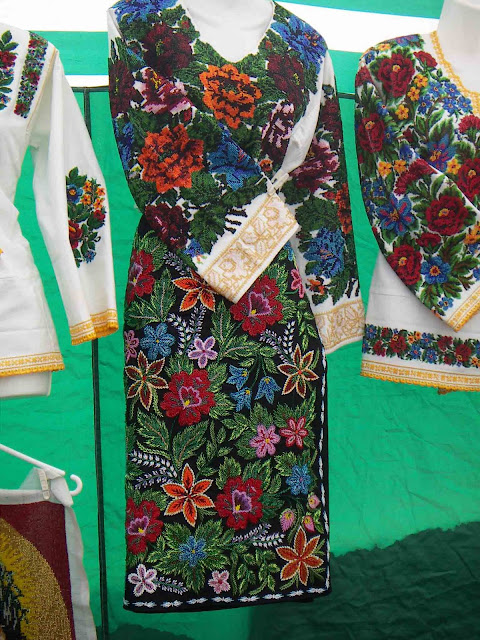 Bukovyna Beaded And Sequins Embroidery Western Ukraine