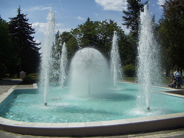 Blowball Fountain Ternopil West Ukraine
