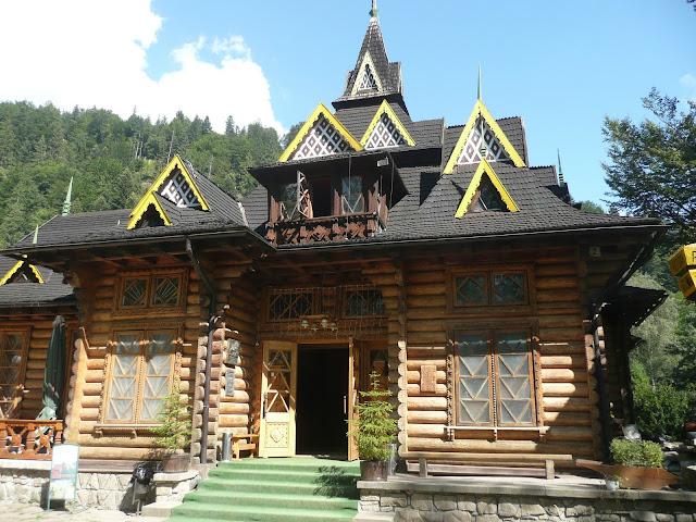 Ресторан Гуцульщина Яремче Українські Карпати